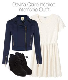 """The Originals - Davina Claire Inspired Internship Outfit"" by staystronng ❤ liked on Polyvore featuring Monki, Yumi, Dolce Vita, to, Work, internship and DavinaClaire"