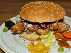 Tutorial and recipe for a delicious teriyaki chicken burger! Come and see, why it is importand for your balance!