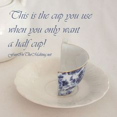 @: half Tea Cup for Mad Hatter's Party...fun ideas here