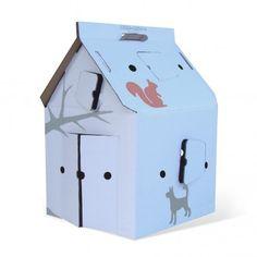 Casa Cabana Haus aus Karton mit Motiven  Studio Roof