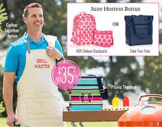 Thirty-One Gifts - June Hostess Special. Contact me to host a Facebook party and earn these great products!