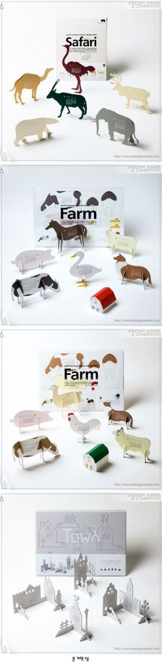 "Images of Good Morning Original Calendar 2012 ""farm"" by Katsumi Tamura   책상위에 올려놓고 싶은 달력"