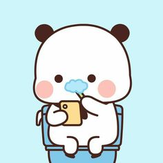 Cute Panda Cartoon, Cute Cartoon Pictures, Cute Love Pictures, Cute Love Gif, Cute Love Cartoons, Cute Bear Drawings, Cute Animal Drawings Kawaii, Kawaii Drawings, Cute Hug