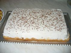 No Bake Cake, Vanilla Cake, Food And Drink, Baking, Sweet, Cakes, Dessert Ideas, Snacks, Kuchen