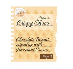 CRISPY CHOCO Pag.2 - Una deliziosa base di boscotto al cioccolato con crema di nocciola! #eliquids #DEAStore