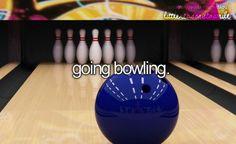 Bowling this year at Iowa... @faithbarth