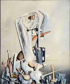 art gallery for French century artist Yves Tanguy Yves Tanguy, Modern Art, Contemporary Art, Museums In Nyc, Max Ernst, Surrealism Painting, Magritte, Weird Art, Fantastic Art