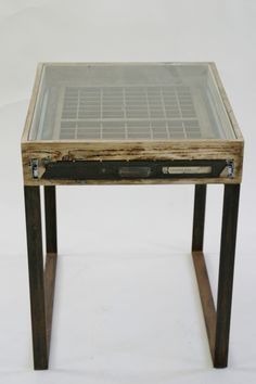 Printers Tray Side Table – Ludlow – Tables – Recreate