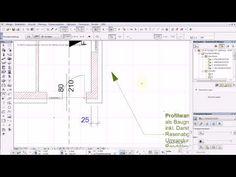 Archicad 17 mini tut Struktur Darstellung Bemassungen Ausschnittmappe - YouTube