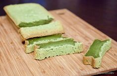 Matcha Mochi Cake. Love matcha and loooooove mochi. This is the best recipe find ever.