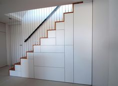 under stair storage ; basement