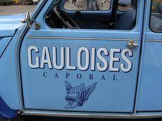 Citroen 2CV Gauloises   http://www.pinterest.com/adisavoiaditrev/boards/