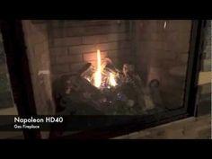 HD40 Napoleon Fireplace Burn Video  - Fireplace Warehouse ETC