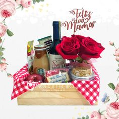 Discover recipes, home ideas, style inspiration and other ideas to try. Breakfast Basket, Breakfast On The Go, Mother's Day Gift Baskets, Diy Bouquet, Mom Day, Brunch, Diy Birthday, Food Items, Creative Gifts