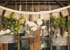 Friday Florals – Suspended Flower Boxes And Arrangements - Alexan Events Rustic Bohemian Wedding, Elegant Wedding, Wedding Bouquets, Wedding Flowers, Arte Floral, Wedding Reception Decorations, Flower Boxes, Wedding Inspiration, Wedding Ideas