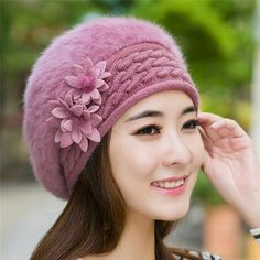 2016 Fashion New Women Hats Autumn And Winter Rabbit Fur Skullies & Beanies Knitting Warm Hat Elegant Ladies Beret Hats  #beautiful #outfit #outfitoftheday #hair #stylish #styles #beauty #jennifiers #makeup #cute #fashion #style #purse #jewelry #model