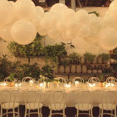 Screen Shot at pm. Balloon Ceiling, Ceiling Canopy, Wedding Bells, Wedding Flowers, Flower Decorations, Table Decorations, Balloon Installation, Bridal Photoshoot, White Balloons
