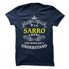 nice Team SARRO T-Shirts - Design Custom Team SARRO Shirts