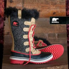 Snow boots, i need these in my life, so maybe i wont slip and fall this year! Women's Tofino Herringbone- Sorel