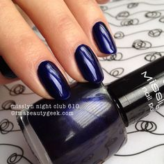 misslyn night club 610 - click thru to imabeautygeek.com for MEGA-swatchin' of Misslyn!
