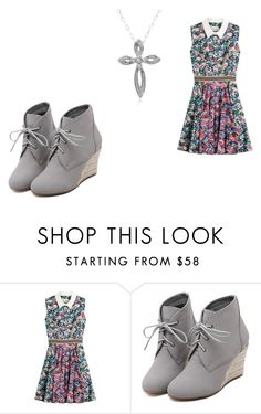 """""""Untitled #122"""" by adriana03182003 ❤ liked on Polyvore featuring Mary Katrantzou, WithChic and Amanda Rose Collection"""