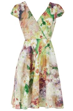 Louche Mollie Watercolour Dress, £55, via Joy