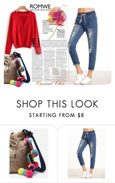 """Romwe 9"" by difen ❤ liked on Polyvore"