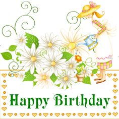 Happy Birthday Happy Summer Images, Spring Images, Happy Spring, Happy Birthday Prayer, Happy Birthday Woman, Happy Birthday Images, Good Morning Ladies, Good Morning Images, Greetings Images