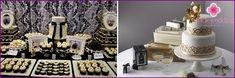 Svatba v Gatsby stylu - nápady a dekor, novomanželů obrazu, foto