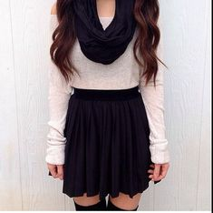 22158a280e7fc Cute! Winter Outfits With Skirts, Winter Outfits For Teen Girls Cold, Fall  Winter