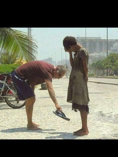 Share with the less fortunate