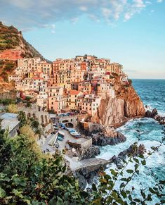 The towns of Cinque Terre are not the only places worth visiting on a Roman holiday. Seaside Village, Seaside Towns, Places To Travel, Places To Go, Isle Of Capri, Destinations, Places Worth Visiting, Cinque Terre, World Heritage Sites