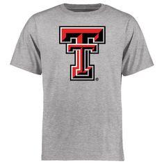 Texas Tech Red Raiders Big & Tall Classic Primary T-Shirt - Ash - $24.99