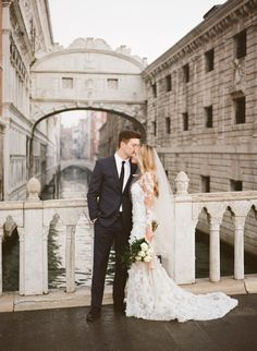 The empty streets of Venice & a stunning Pronovias gown | Archetype Studio Inc
