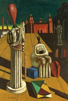 Giorgio de Chirico  - Restless Muse  #art