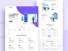 SaaSpik - App and SaaS landing HTML Template by Pixel Signs