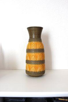Fat+Lava+Große+Bodenvase+Vintage+Blumen+Vase+von+MellowPlace