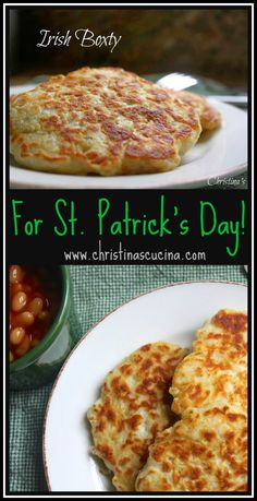 A super easy Irish boxty recipe that's perfect for St Patrick's Day celebrations! A super easy Irish boxty recipe that's perfect for St Patrick's Day celebrations! Boxty Recipe, Irish Desserts, Irish Appetizers, Italian Desserts, Party Appetizers, Irish Potatoes, St Patricks Day Food, Potato Cakes, Potato Recipes