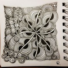 Zentangle 111115. #zentangle #zendoodle #art #artwork #drawing #sketch