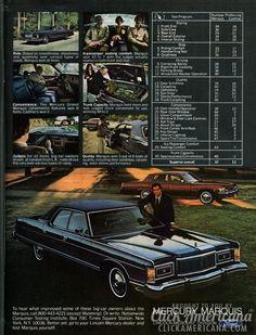 Mercury Marquis beats the Cadillac deVille (1977)