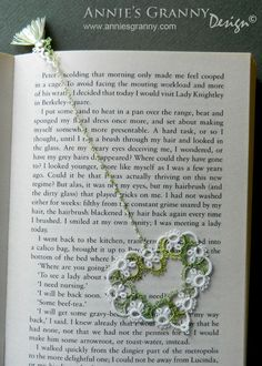 Tatted bookmark by Annie's Granny - No 025