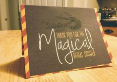 Harry Potter Thank You Card by ALondonPerspective on Etsy, $12.00