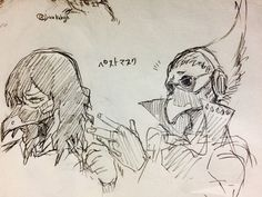 Boku no Hero Academia    Aizawa Shouta, Present Mic (Dibujo/Drawing)