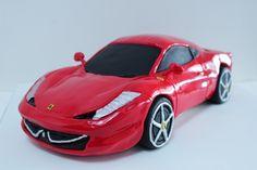 Ferrari 458 Italia cake