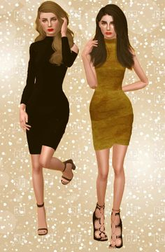 Simlish Girl - WHAT CAN YOU DO Available for YA/A Female 1&2...