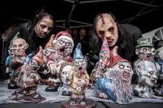 Zombie Gnomes, les nains de jardin façon The Walking Dead de Revenant FX