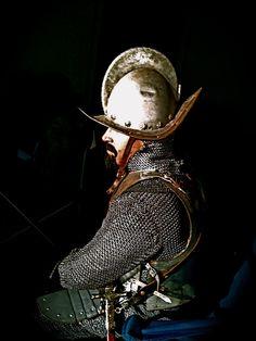 Conquistador armor side view