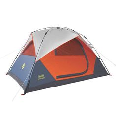 Coleman Instant 5-person Dome Tent Camping Hiking WeatherTec System NEW!