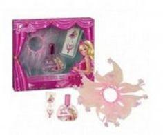 Barbie Pink Shoes - detská EDT 30 ml + sukňa pre bábiky + tetovanie