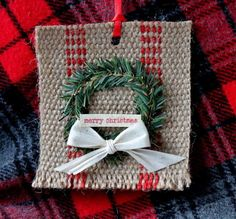 Greet the holiday season with vintage crafts that will take you back in time to the Christmases of yesteryear. These Vintage-Inspired Jute Homemade Ornaments can be whipped together this weekend and enjoyed all month long. Christmas Gifts For Girls, Christmas Banners, Christmas Ornaments To Make, Christmas Tea, Christmas Bells, Christmas Projects, Christmas Holidays, Christmas Wreaths, Christmas Decorations